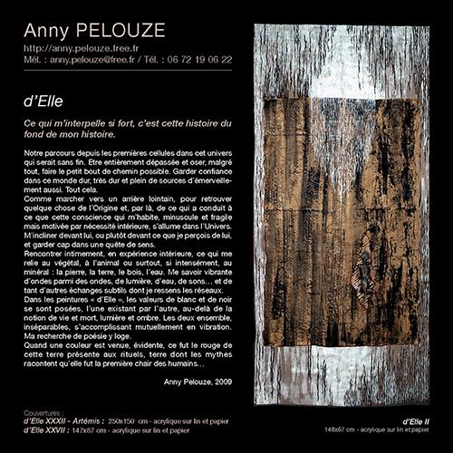 Catalogue exposition Lionel BALARD à l'AMAC - Chamalière